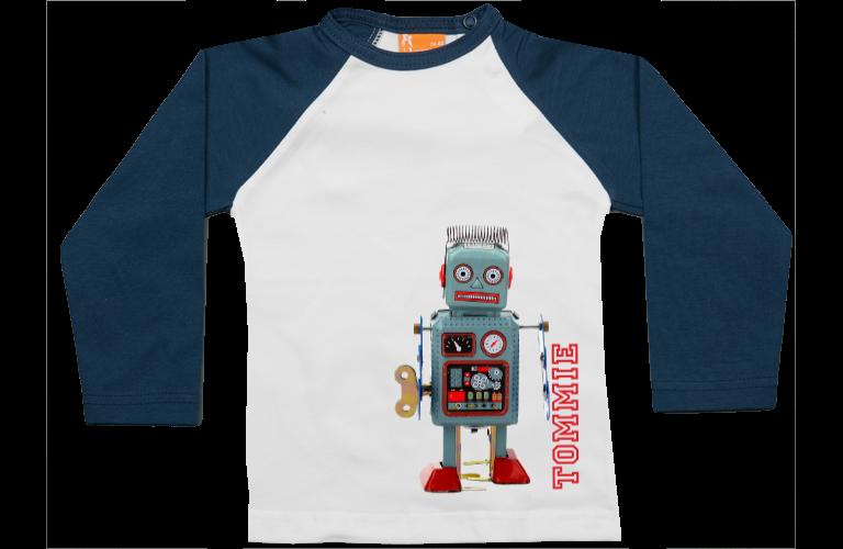 Sorprentas, Raglan t-shirt: Robot